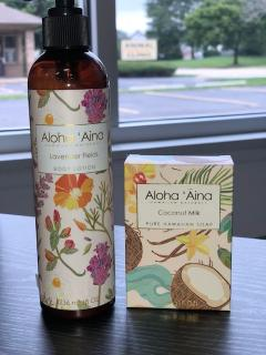 Aloha Aina Lotion and Soap