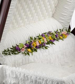 The Trail of Flowers™ Casket Adornment