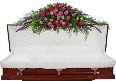 Forever Cherished Full Casket Spray - Full
